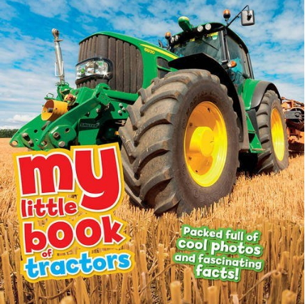 My Little book about tractors cover image