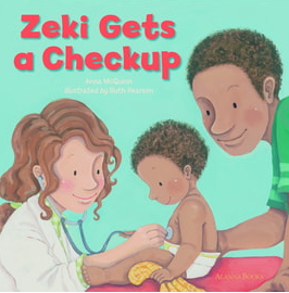 Zeki Gets a Checkup - image and web link
